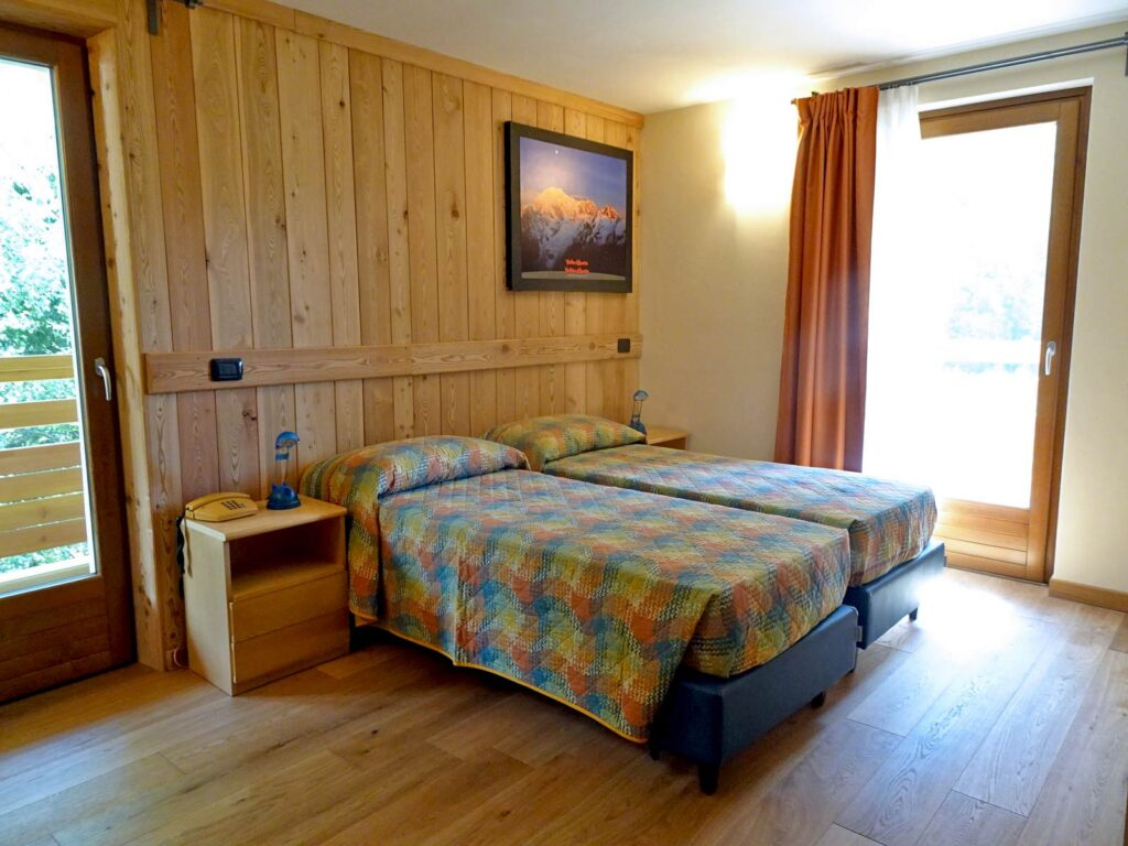 Double room Classic at Hotel Aigle, Courmayeur Mont Blanc..