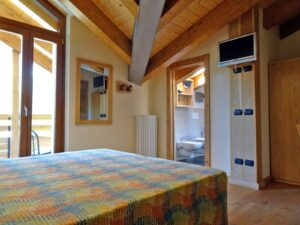 Camera doppia all'Hotel Aigle, Courmayeur Mont Blanc.