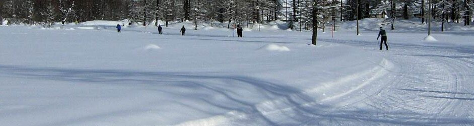 Cross-country skiing in Courmayeur
