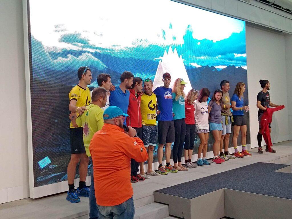 Presentazione dei top-runner del Tor des Geants.